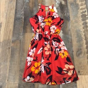 NWT Floral dress.